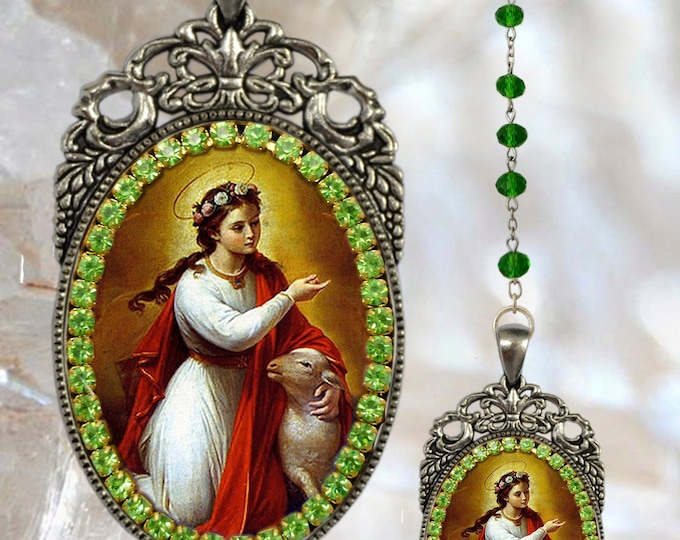 Agnes of Rome Rosary - Patroness of Young Girls, Chastity, Rape Survivors and the Children of Mary