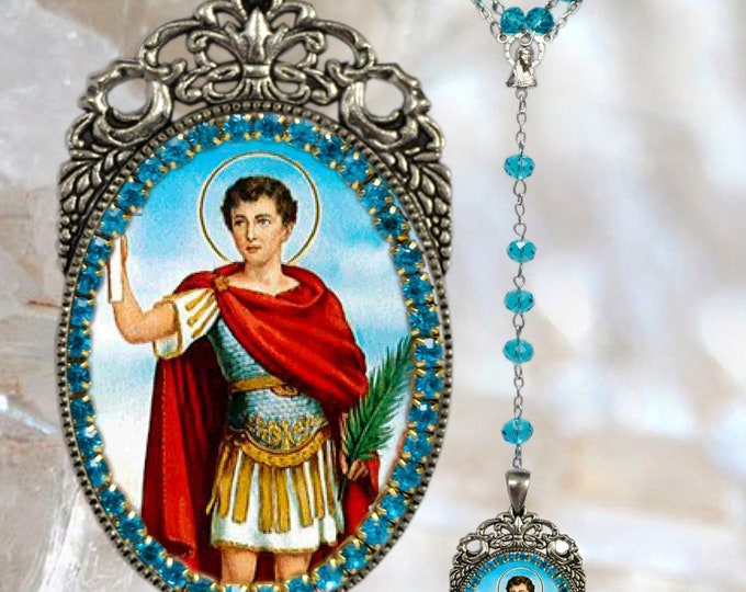 Saint Expeditus Rosary - Patron Saint of Emergencies; Expeditious; Solutions; Against Procrastination;  Merchants & Navigators