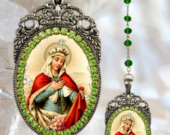 Elizabeth of Hungary  – Rosary - Patroness of Nurses; Bakers; Brides; Dying Children & Homeless People Jewelry Saint Elizabeth of Thuringia