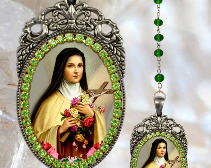 Therese of Lisieux Rosary - The Little Flower - Patroness of Missionaries; HIV/AIDS Sufferers; Florists; Gardeners & Loss of Parents