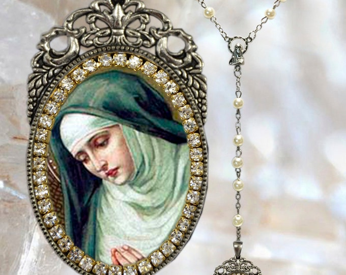 Mary Magdalene Rosary - Patroness of Contemplative Life; Hairdressers; People Ridiculed for their Piety & Women