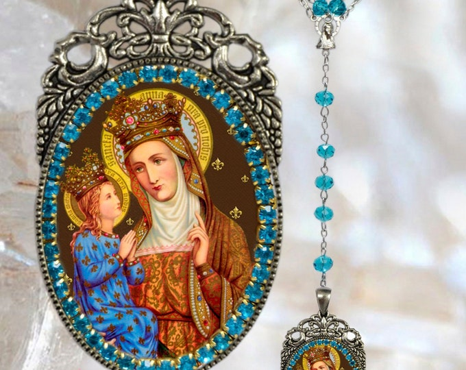 Saint Anne – Rosary - Patroness of Childless People; Children; Homemakers; Housewives; Miners; Mothers; Poverty; Pregnancy & Sterility