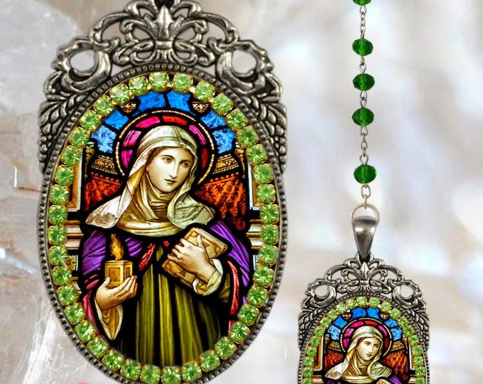 Brigid of Ireland Rosary - Patroness of Ireland, dairymaids, cattle, midwives, Irish nuns, and newborn babies - Brigid of Kildare