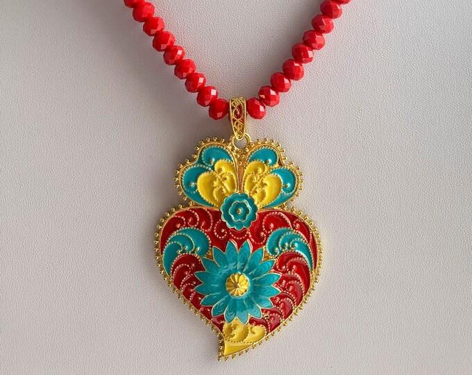 Heart of Viana Necklace - Hollywood Stars love it!