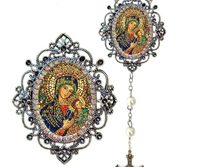 Perpetual Help Rosary - Patroness of Haiti; Redemptorist Order & Almoradi (Spain) - Our Lady of Perpetual Succour Theotokos
