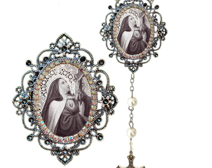 Teresa of Ávila (Saint Teresa of Jesus) Rosary - Patroness of Bodily illnesses; Headaches; Loss of Parents & People in Need of Grace