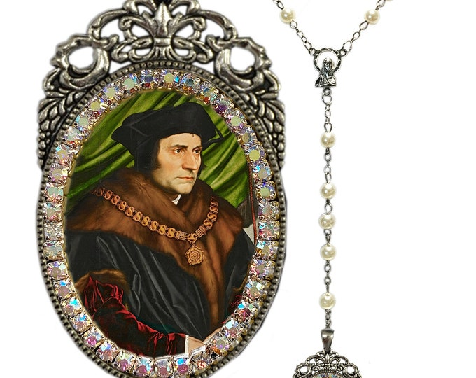Thomas More Rosary - Patron Saint of Adopted Children; Civil Servants; Difficult Marriages; Large Families; Lawyers & Politicians