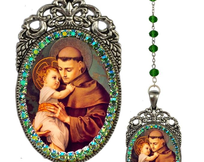 Anthony of Padua Rosary - Santo António de Lisboa - Patron Saint Of Lisbon; Lost Items; Lost People & Lost Souls - Handmade Jewelry