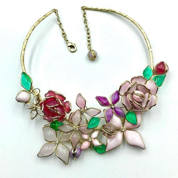 Gripoix necklace