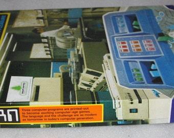 Fortran Edvgame Vintage computer by Barilan University 1973 rare computer game made in Israel original box complete