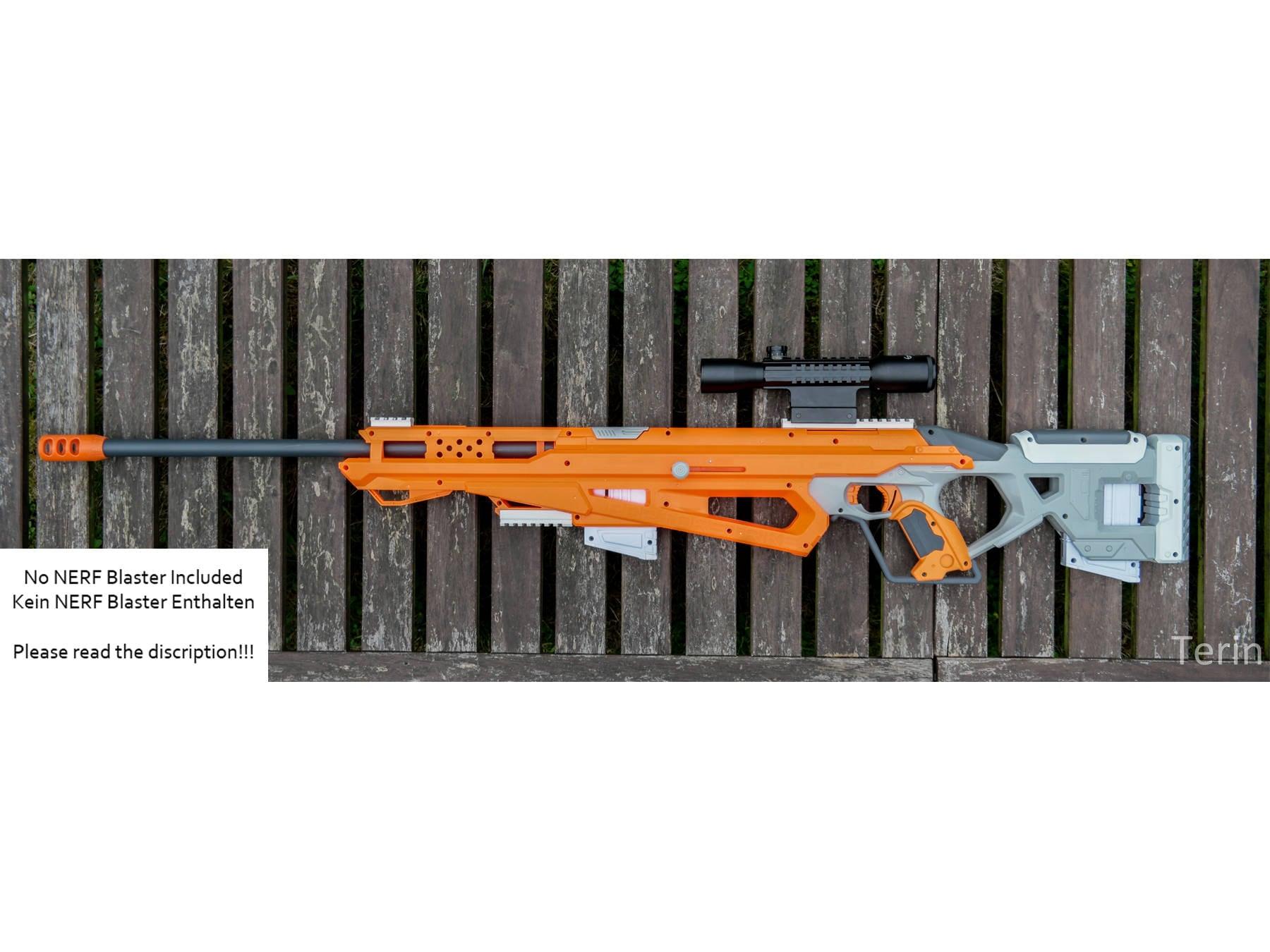 Nerf Accustrike Raptorstrike Sniper SET for LARP and Cosplay