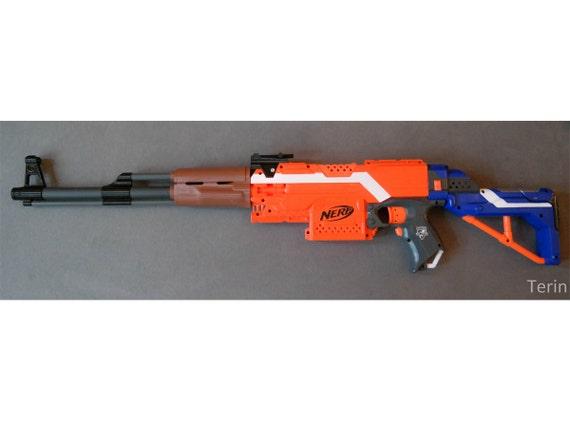 Nerf Blaster Ak 47 Kalaschnikow Handguard Etsy