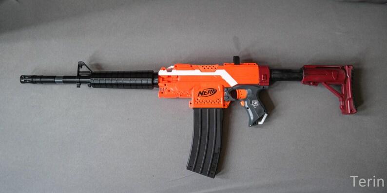 Nerf Blaster M4 style Handguard / Barrel-Extension Version 1