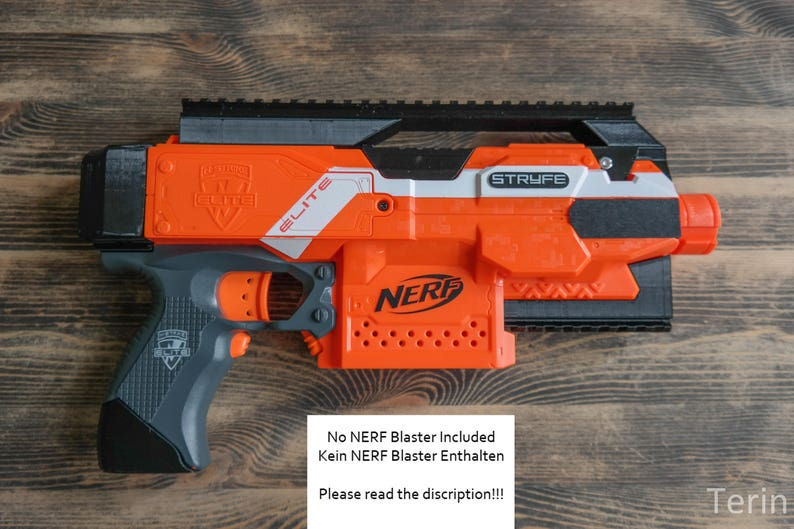 Nerf STRYFE Blaster Extensions / Modifications image 0