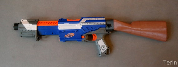Nerf Blaster Ak 47 Kalaschnikow Stock Etsy