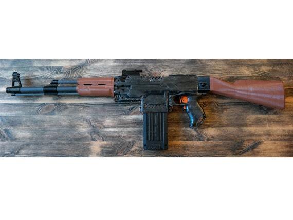 Nerf Blaster Ak 47 Kalaschnikow Set For Larp Und Cosplay Etsy