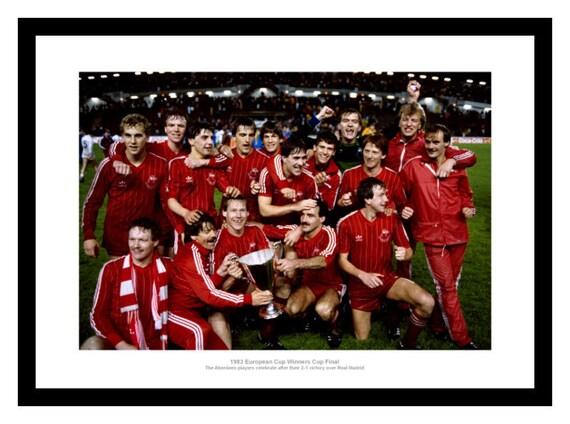 Rangers FC 1972 European Cup Winners Cup Goal Framed Photo Memorabilia