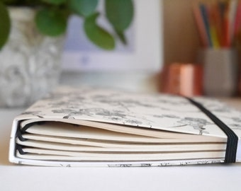 Midori a5 fauxdori notebook cover, midori cherry blossom notebook cover, a5 travelers notebook cover, a5 notebook cover, a5 cover, mtn, tn