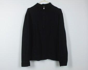 54589ccf Vintage Hugo Boss Sweatshirt, Size L, 90s clothing, Hugo Boss, vintage  sweatshirt, zipper (KK/05/672)