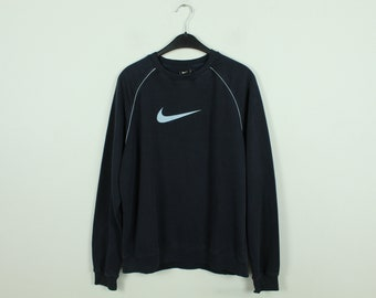 Vintage Nike Sweater, Size L, Sweatshirt, with logo, dark blue (KK/21/09/232)