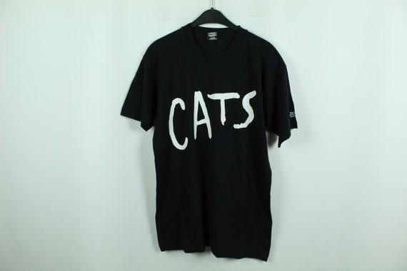 Vintage CATS musical 80s T-Shirt, Size M, 80s clot