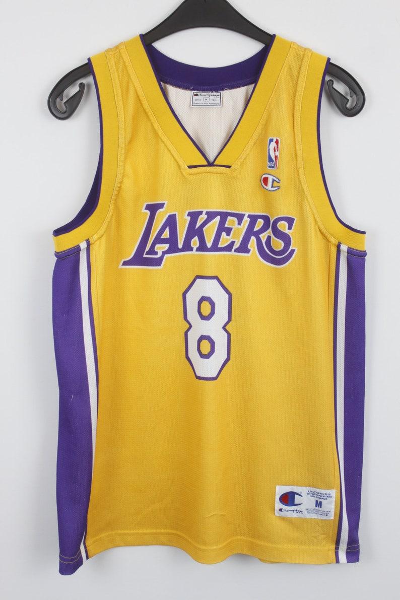 check out 47207 7617e Vintage 90s LAKERS Kobe Bryant Jersey, vintage champion jersey, NBA  basketball