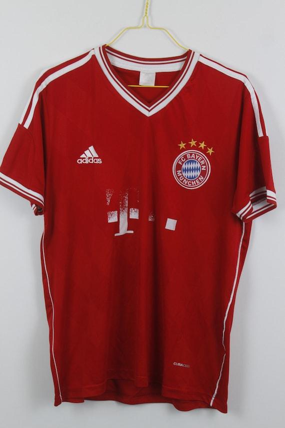 Vintage Adidas Fc Bayern Munchen Jersey Football Shirt Etsy