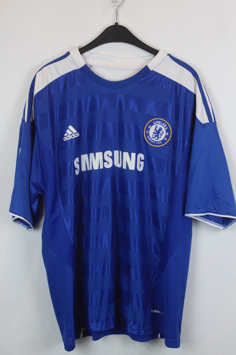 cf8944bc471 Vintage ADIDAS Chelsea London jersey TORRES Football Shirt | Etsy