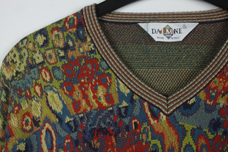 Size M 90s jumper Vintage Pullover 90s clothing KK06060 Vintage Sweater cosby style