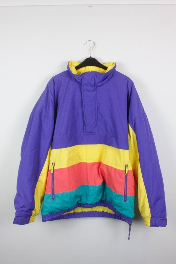 Vintage jacket, windbreaker, vintage clothing, 90s