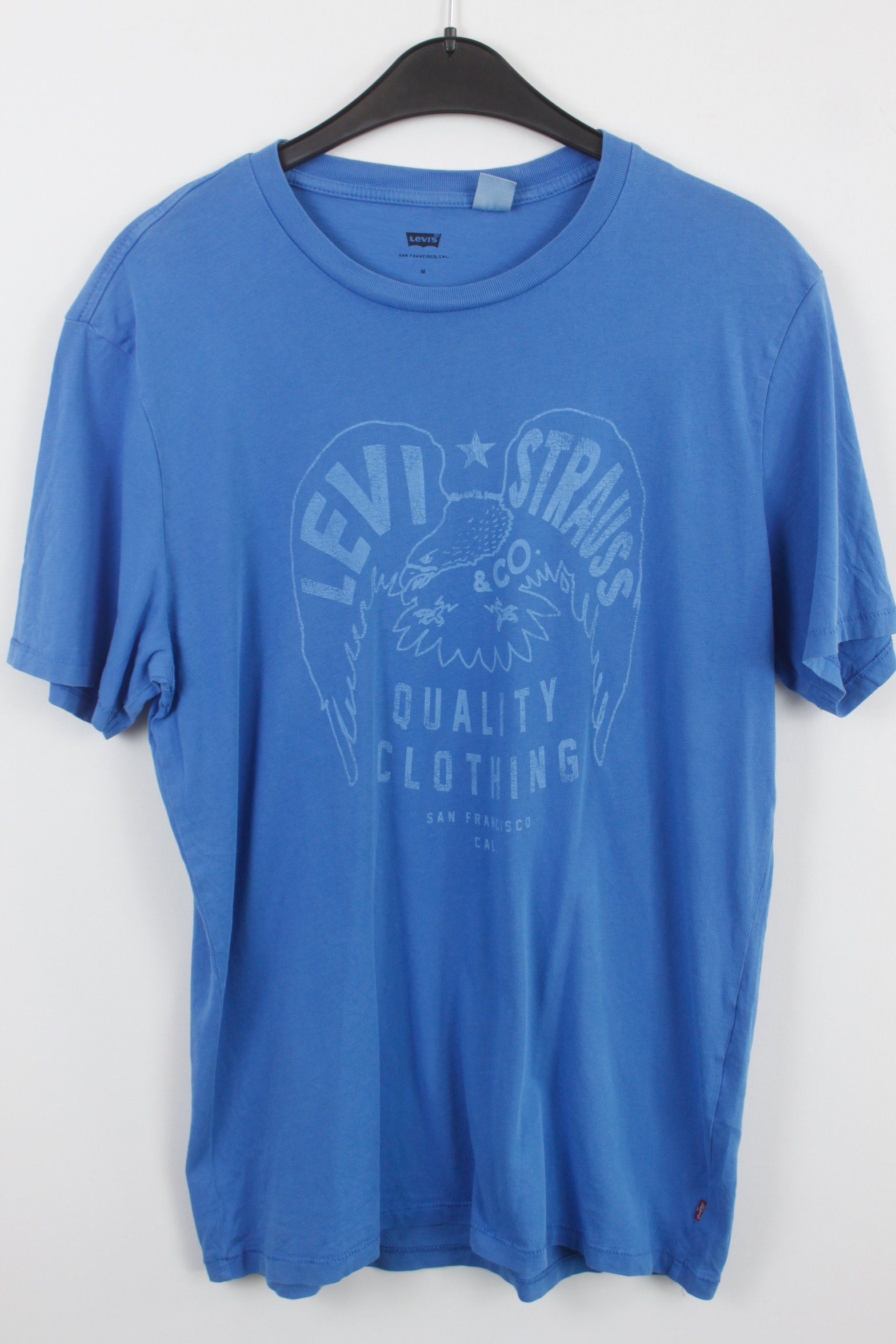 e0a9cff9ee0753 LEVI s Vintage t-shirt 90s clothing levis t-shirt blue