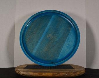 """Platter- """"Blue Coral"""""""