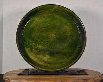 """Platter """"Green Grass"""""""