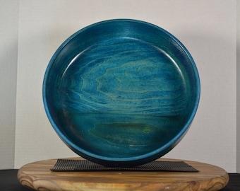"Large Bowl- ""Blue Sea"""