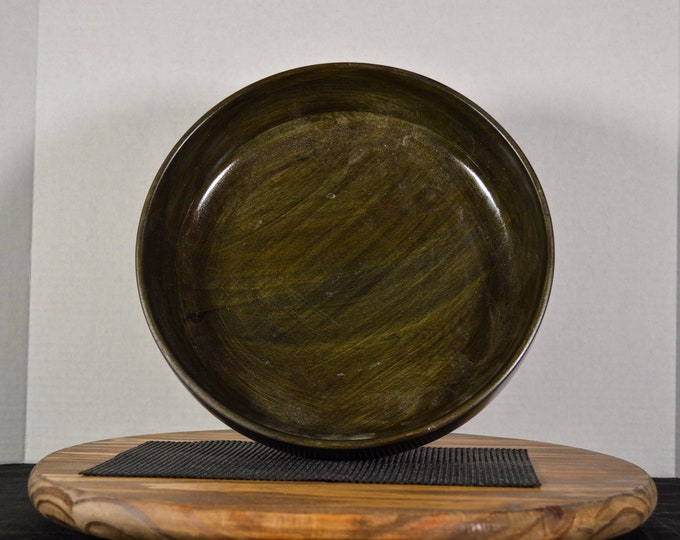"Large Bowl- ""Green Briar"""