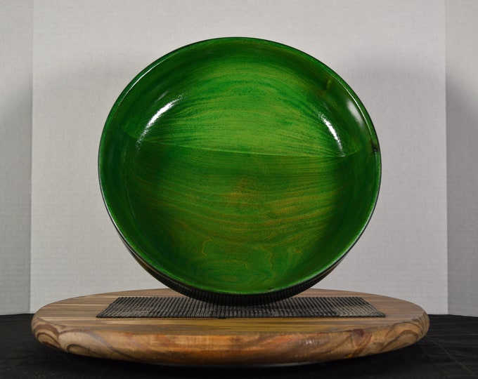 "Large Bowl- ""Green Valley"""