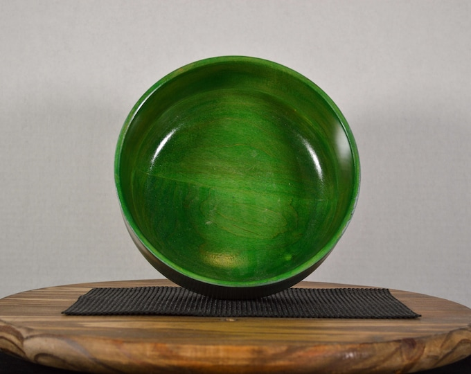 "Medium Bowl ""Green Meanie"""