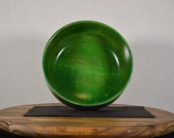 """Medium Bowl """"Green Meanie"""""""