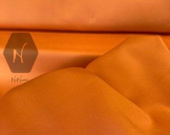 Baumwollstretch in orange