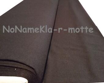 50cm Viskose-Jersey schwarz