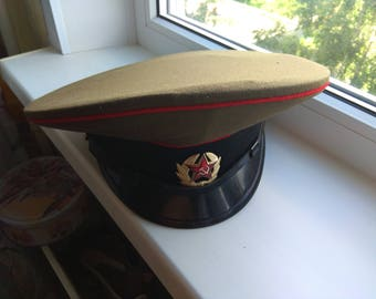 f489a9b22fd1a Vintage Authentic Army Cap Soviet military