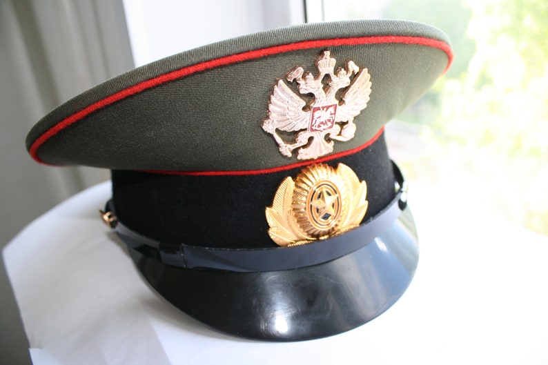 b5133b55d07fb Comrade! Be ready! New Unused Army Cap Soviet military style, Military Hat  Cap, Soviet Military Hat Cap Size 56 , S-M , US 7