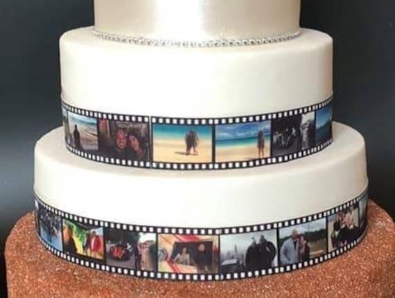 Incredible Edible Film Strip Personalised Cake Decoration Birthday Etsy Birthday Cards Printable Benkemecafe Filternl