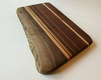 Live Edge Cutting and Serving Board made from Appalachian Hardwoods