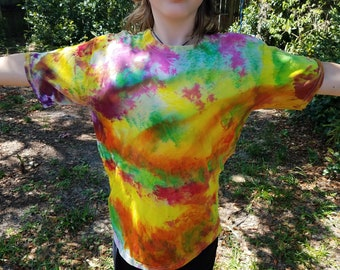 Kids Fun Tie Dye Shirt - XL