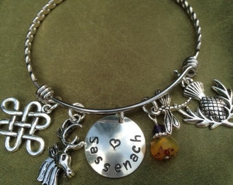 Scottish Theme Bracelet