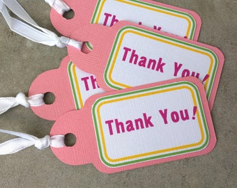 Thank You Favor Tags (Set of 15)