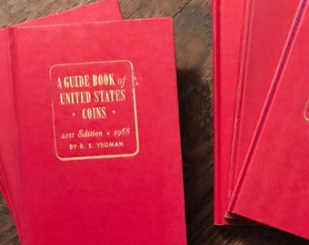 Vintage American coin books-perfect for patriotic displays