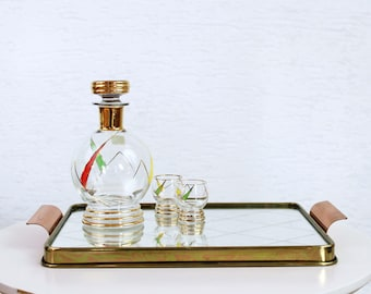 Art Deco mirror tray