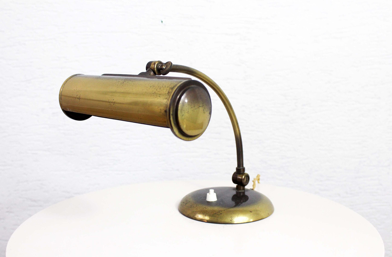Lampe De Bureau Annees 30 Etsy
